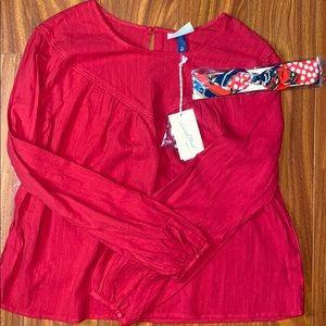 Long sleeve blouse NWT w/ BONUS